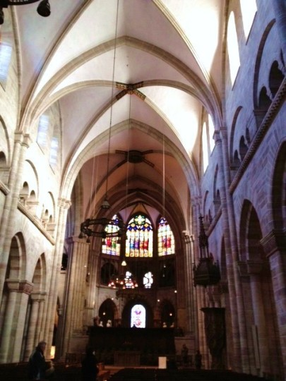 Inside Grossmunster