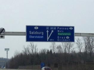 Roadtrip to Salzburg
