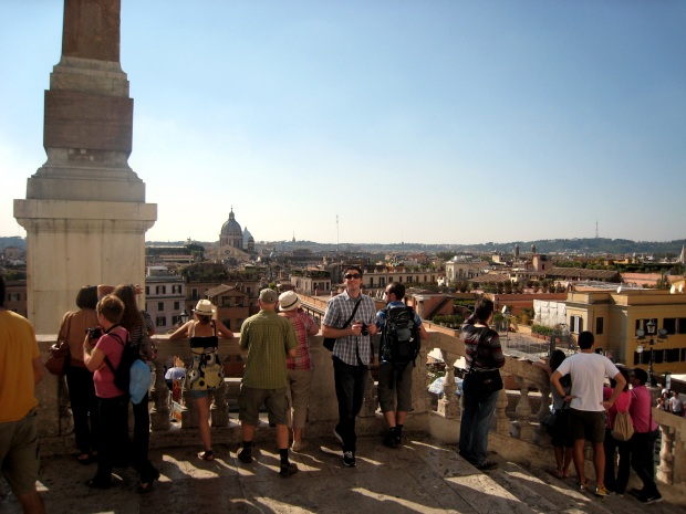 Top of Spanish Steps