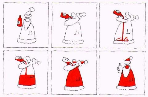 Pikkujoulu Santa