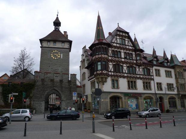 Konstanz Entering Old Town