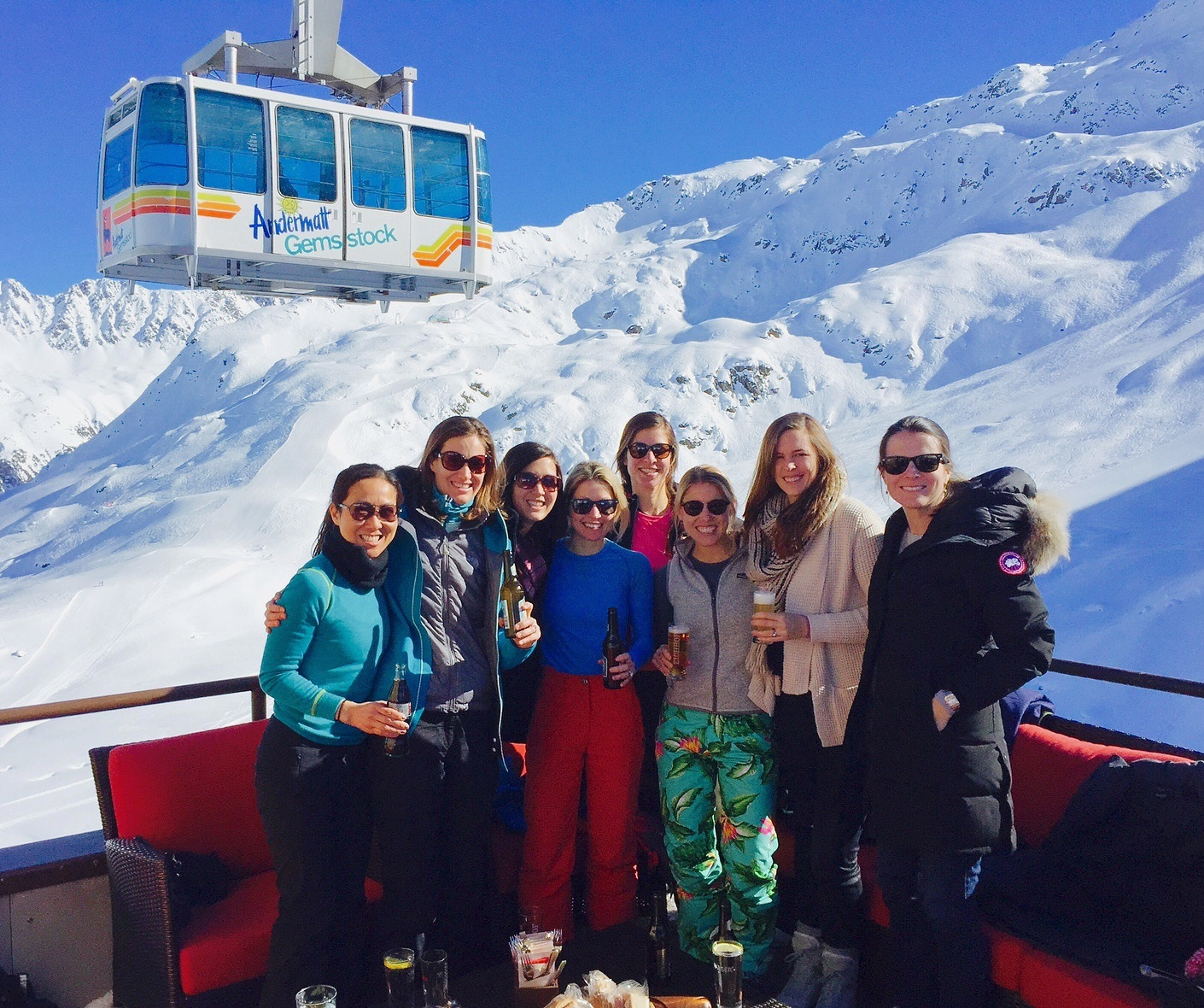 Skiing the Swiss Alps – Andermatt