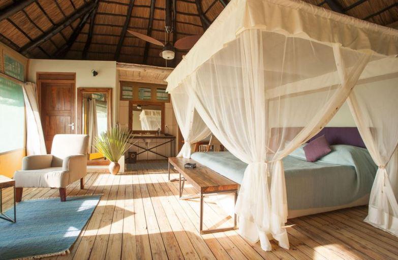 Inside Maramboi Tent